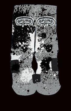 San Antonio Spurs Inspired Custom Nike Elite by ChampionshipElites, $34.99