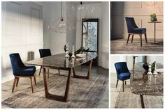 Opera Collection 2015 Table and chair by Vibieffe www.vibieffe.com