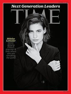 Christine and the Queens photographiée par Laura Pannack pour le @TimeMagazine (octobre 2016)