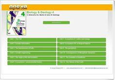 "Anaya Digital: ""Biology & Geology Natural Science de 4º de Secundaria"" Anaya, The Cell, Geology, Engineering, The Unit, Digital, Natural, Interactive Activities, Science"
