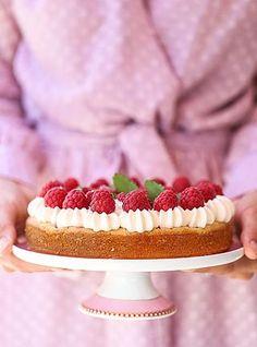 Hallonkladdkaka med vit choklad | Fridas bakblogg | Bloglovin'