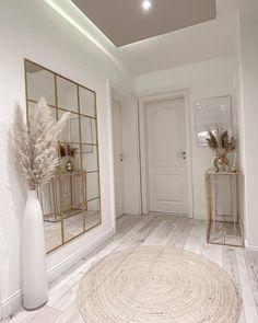 Home Room Design, Home Interior Design, House Design, Home Living Room, Living Room Decor, Bedroom Decor, Wall Decor, Hallway Decorating, My New Room