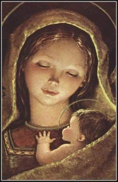 Mary and Jesus... so sweet