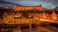 Fotografía Uppsala castle in Sweden por Peter Rejmer en 500px