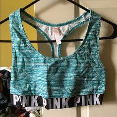 Victoria Secret PINK SPORTS BRA! Victoria Secret PINK SPORTS BRA! Size large! Racer back! PINK Victoria's Secret Intimates & Sleepwear Bras