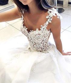 """2,791 Likes, 8 Comments - Wedding Dress Lookbook (@weddingdresslookbook) on Instagram: """"Yes or No? Follow luxury Lingerie brand @prettylingeriie @prettylingeriie @prettylingeriie"""""""