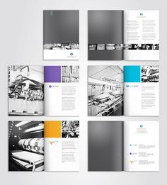 Brochure - like the pop of color