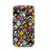Cute Cartoon Pattern Plastic Back Case Cover for Samsung GALAXY S4 i9500