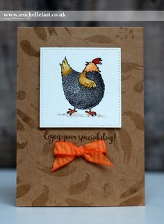 Hey Chick from Stampin' Up! - with Michelle Last