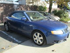 04 Audi A4 convertible 56k-engine issues - $4000