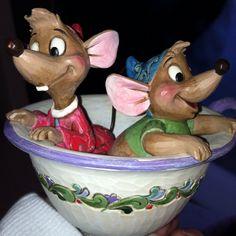 Jim shore cinderella  mice!