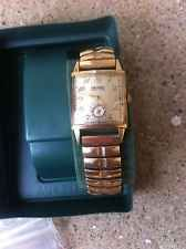 Vintage Bulova  14k Gold Plated 21Jewel Men's Watch