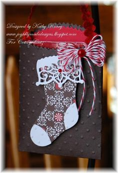 Stocking Gift Card Holder - CottageCutz