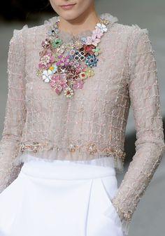 Maxi collar floral. Precioso!!