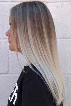 45 Adorable Ash Blonde Frisuren - Stilvolle blonde Haarfarbe-Schatten-Ideen