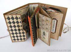 #papercraft #scrapbook #minialbum    shelly+hickox+halloween+pop+up+book10.jpg 1,203×896 pixels