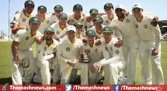 Melbourne: Australian cricket team easily won second test match by huge 177 runs from guest team West Indies and got final results of series with a fantastic victory, lead the 3 match series by 0-2.