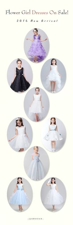 Flower Girl Dresses On Sale!        2016 New Arrival  #Flowergirldress