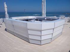 Angolo di Mario - Pesaro. Rooftop Bar Counter. www.movidos.it