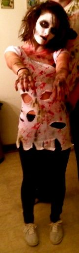 zombie costume  homemade