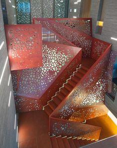 TECU® Classic in Villa Las Brisas #staircase #copper