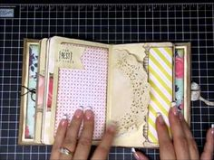 December Daily 2014 Book and goodies - getting ready!! - YouTube