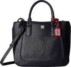 Nine West Womens Satchel Away French NavyRuby Red One Size *** You can get more details by clicking on the image. (This is an affiliate link)