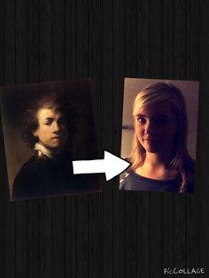 Selfie Rembrandt