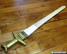 Great for slaying orcs, repelling music fans. #uncool | www.errico.com