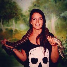 3 years ago... #wildlifesanctuary #wildlife #currumbin #currumbinwildlifesanctuary #currumbinsanctuary #aussie #australia #tbt #snake #snakeselfie #skull #straya #goldcoast #gc #goldcoastlife #queensland #countdown #tourist  #traveller #love #aussiegirl by m.partyhard http://ift.tt/1X9mXhV