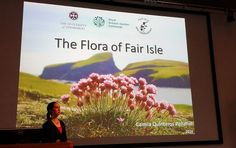 """The Flora of Fair Isle"" - MSc research project by Camila Quinteros"