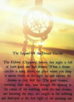 The Story Of Dream Catchers beautiful story to read to kids then hang a dreamcatcher in 16