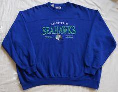 Vintage mid late 90s Seattle Seahawks Sweatshirt by Lee Sport. Men s 2XL  (pre d176553c0