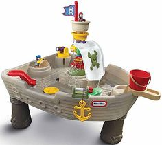 Arrrrgh mateys! Hours of fun for the wee pirates in this water table.