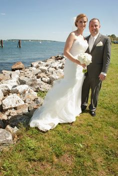 Madeleine's Daughter Blog, Real bride, real wedding, ivory wedding gown, bridal gown, Watters and Watters, Nina, veil