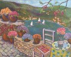 "Une autre vue du Collioure; aka "" My Wonder Wall""... Giclee available @ chezholly@etsy.com"
