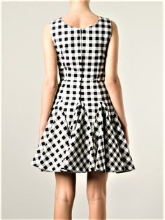 Swans Style is the top online fashion store for women. Shop sexy club dresses, jeans, shoes, bodysuits, skirts and more. Best Prom Dresses, 50s Dresses, Gingham Dress, Striped Dress, Colour Blocking Fashion, Dress Outfits, Fashion Dresses, Frock Patterns, Ankara Gown Styles