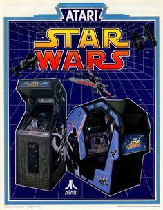 StarWars; StarWars Atari Arcade games from the 1980s.