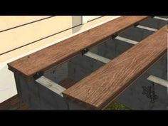 2 - Composite Deck building - Parallel installation - YouTube