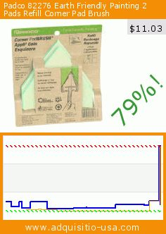 Padco 82276 Earth Friendly Painting 2 Pads Refill Corner Pad Brush (Tools & Home Improvement). Drop 79%! Current price $11.03, the previous price was $52.58. https://www.adquisitio-usa.com/padco-incorporated-usa/padco-82276-earth