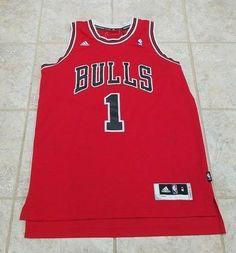 Adidas Chicago Bulls Derrick Rose Swingman Jersey Mens M +2 Length NBA  Basketbal  adidas 8cb66ce78
