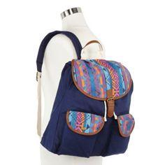 Olsenboye® Aztec-Trim Backpack Aztec Navy