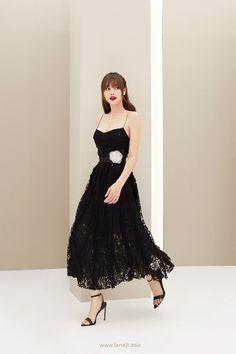 All products are designed and made by Lane JT Resort Dresses, 15 Dresses, Elegant Dresses, Pretty Dresses, Fashion Dresses, Woman Dresses, Lace Midi Dress, Dress Skirt, Korean Dress Formal