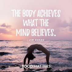 The mind is one of the most powerful tools you can learn to use to achieve what you want! This is something we will be getting into more, so stay tuned! www.foodmatters.com #foodmatters #foodforthought