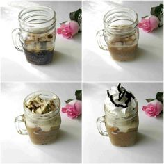 Recept Na Moju Ľadovú Kávu – Tiramisu Iced Coffee Iced Coffee, Tiramisu, Latte, Pudding, Lifestyle, Desserts, Tailgate Desserts, Deserts, Custard Pudding