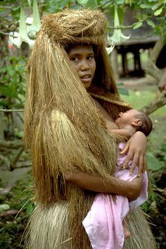Trobriand Mother and child