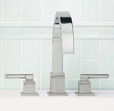 Modern Deckmount Roman Tub Faucet Set Restoration Hardware