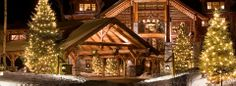 One of my most favorite Christmas vacations.. The Whiteface Lodge in the Adirondac Mountains. Lovely.