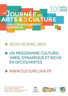 © Université de Haute Alsace Journée des arts et de la culture dans l'enseignement supérieur