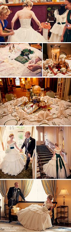 Highlights from Ross and Terah's Victorian era theme wedding
